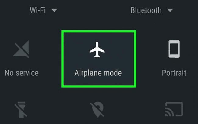 حالت Airplane
