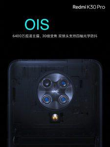 ساختمان دوربین پشتی K30 Pro