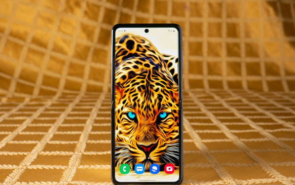نمایشگر Galaxy Z Flip
