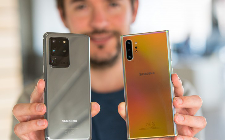 Galaxy S20 Ultra vs Galaxy Note10 Plus