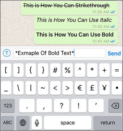 نحوه Bold کردن متن