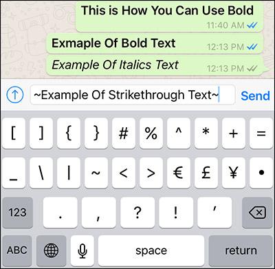 نحوه StrikeThrough کردن متن