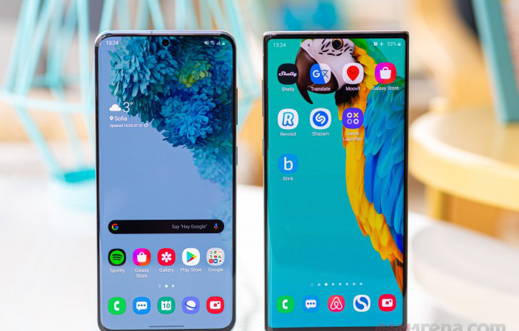 Galaxy Note10 & Galaxy S20