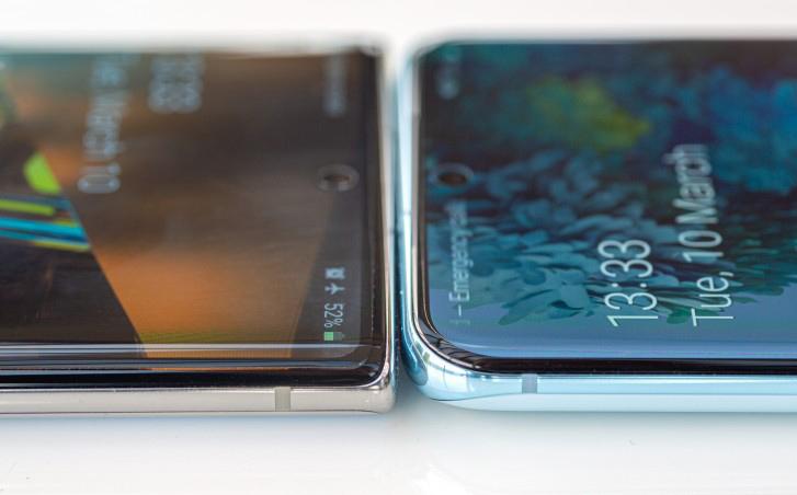 طراحی بخش بالایی Note10 و S20