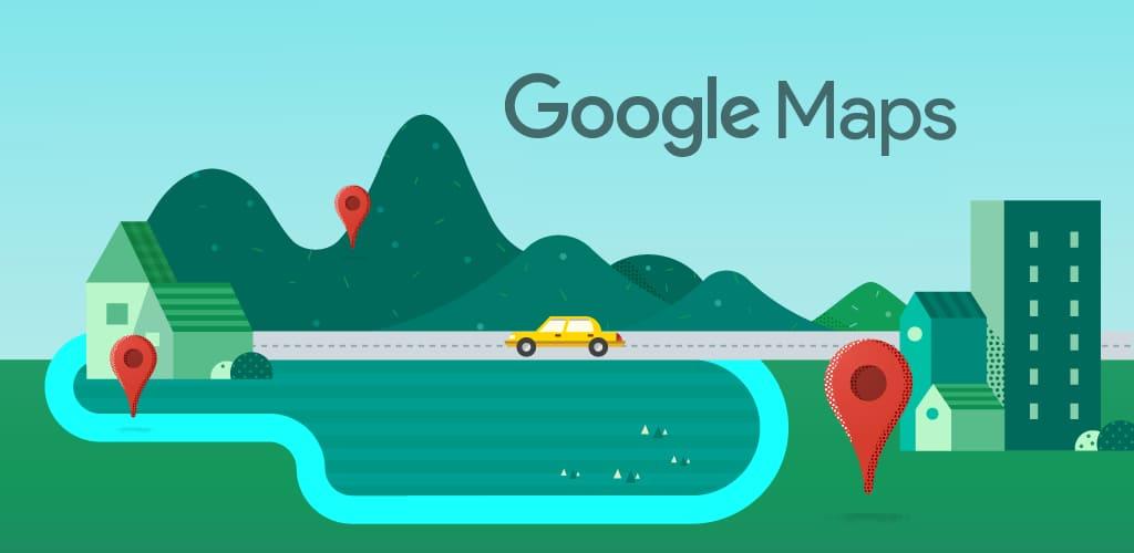 ویژگی های برنامه Google Maps