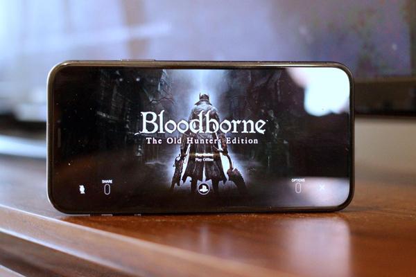 اجرای Bloodborne روی گوشی