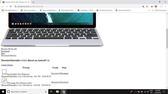 دانلود نسخه سازگار با سیستم عامل رایانه