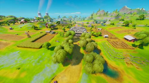 Frenzy Farm در Fortnite