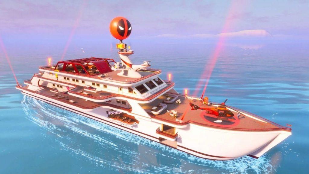The Yacht در Fortnite