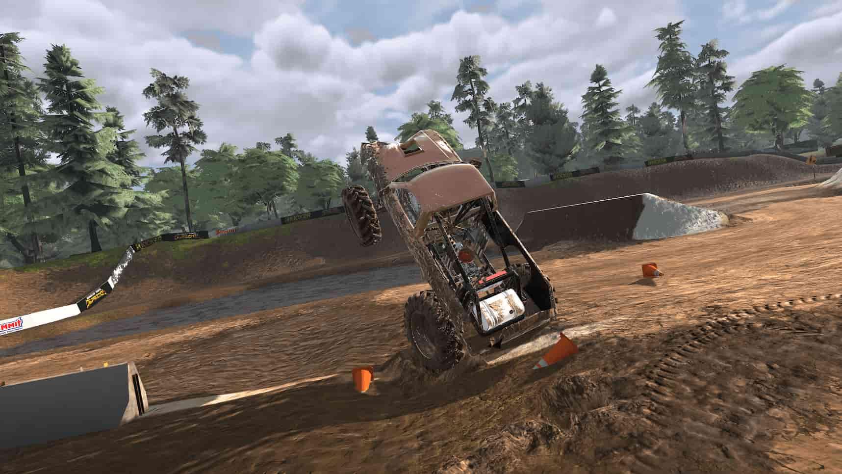 گرافیک در بازی Trucks Off Road
