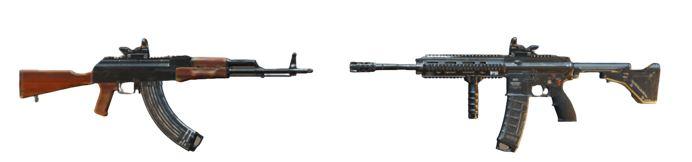 AKM/M762 + M416