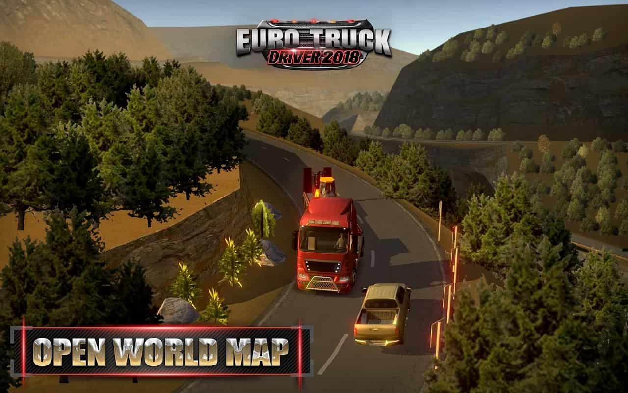 بازی Euro Truck Driver