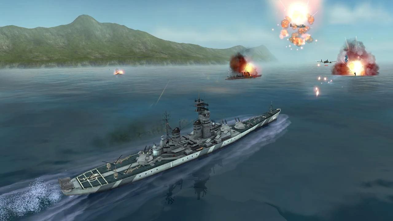 بازی warship battle