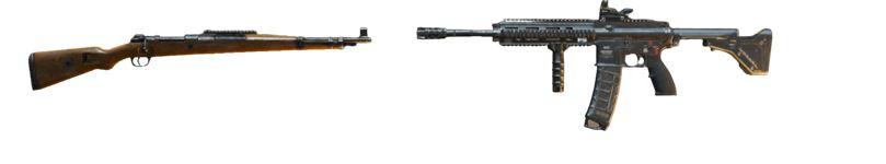 M416 + KAR98K
