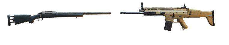 M416/SCAR-L + KAR98k/M24