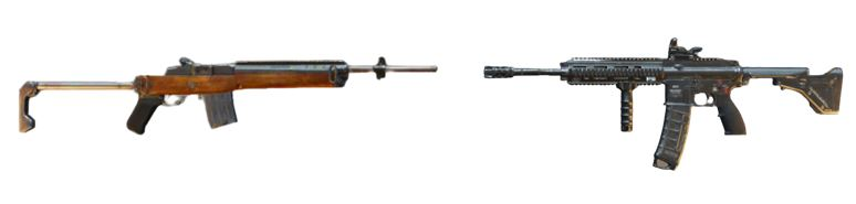M416/SCAR-L + Mini14/SKS