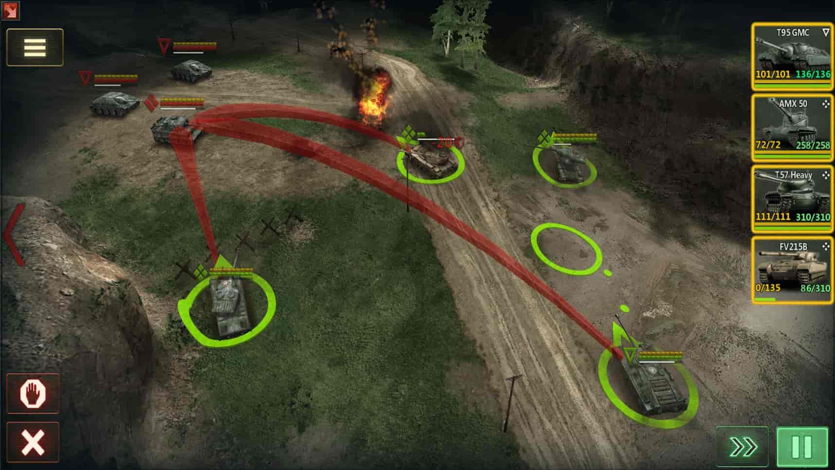 Armor Age جنگ تانک ها