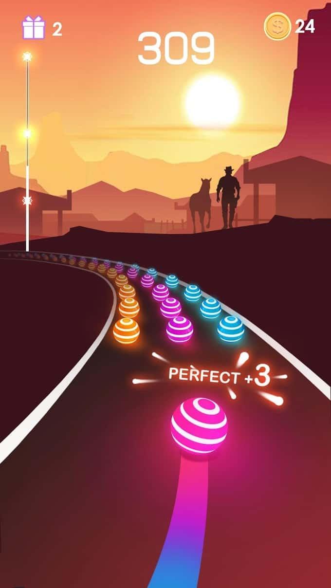 Dancing Road