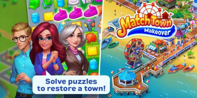 Match Town Makeover