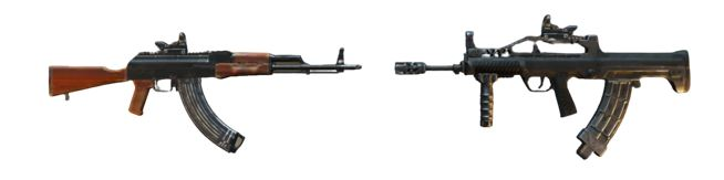M416/QBZ + M762/AKM