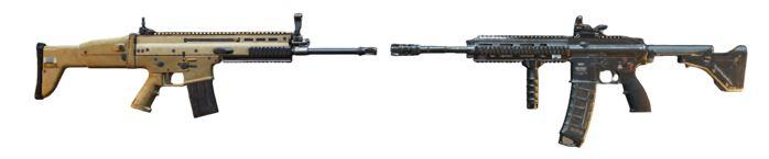 M416 + SCAR-L/MK12
