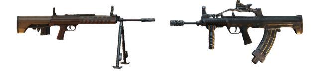 M416/QBZ + QBU