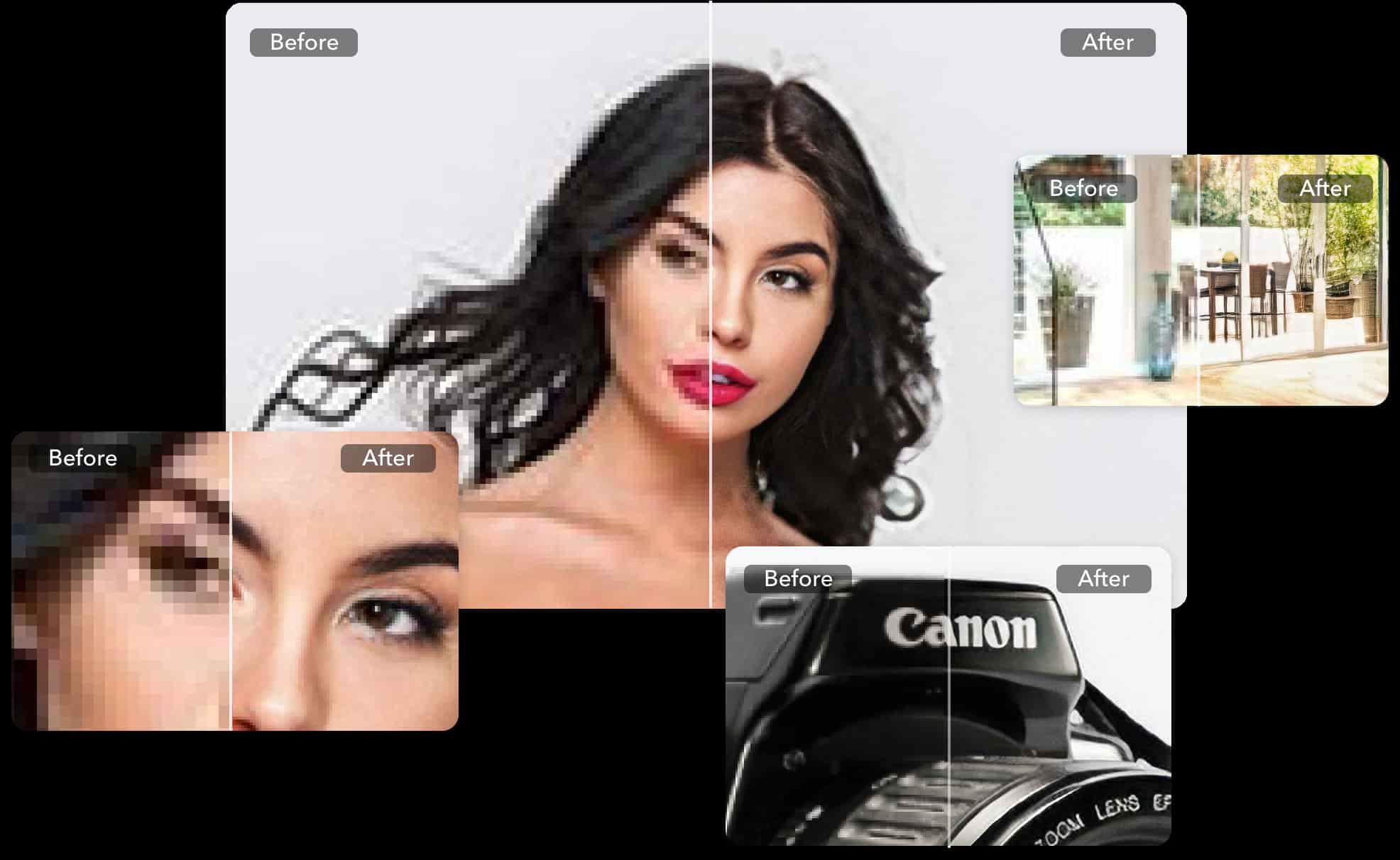 افزایش کیفیت عکس در Letsenhance.io