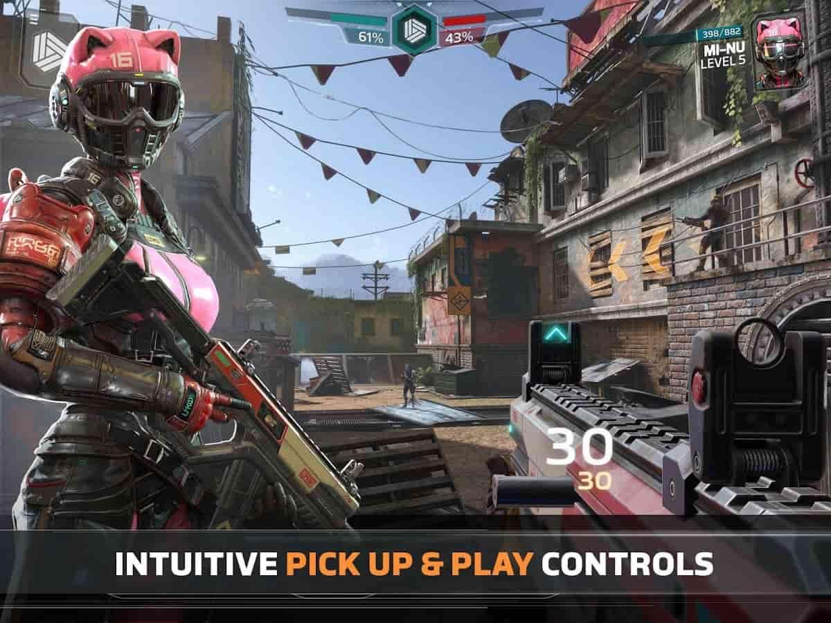 Modern Combat versus :new online Multiplayer FPS