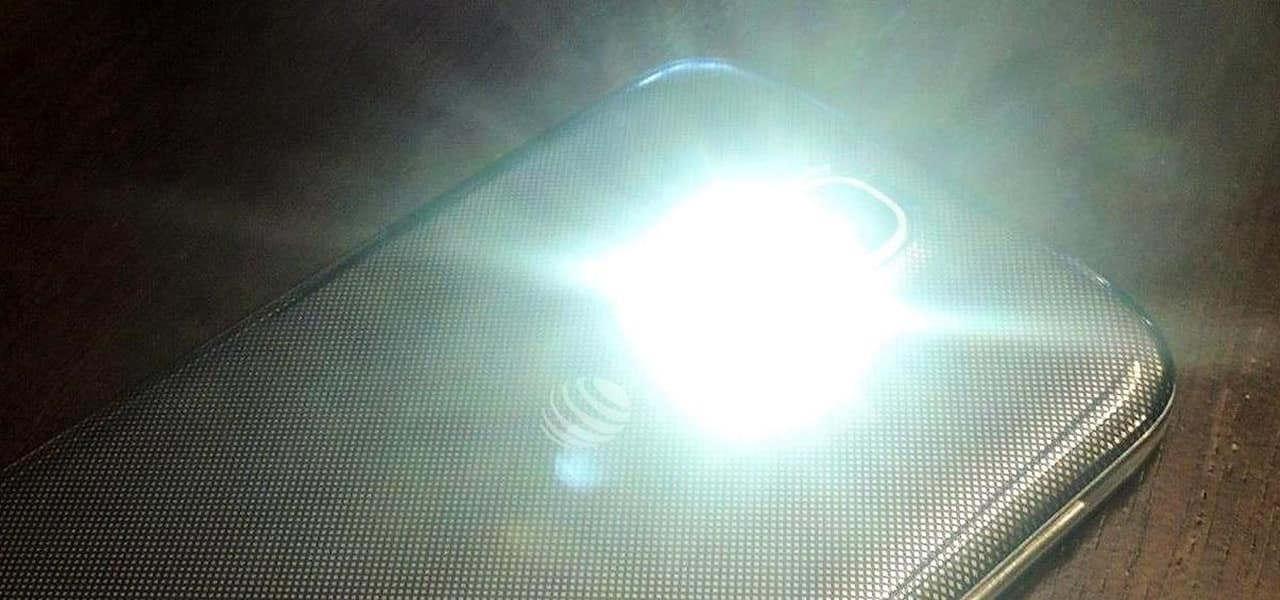 نور فلاش موبایل