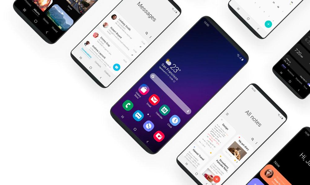 لانچر اختصاصی TouchWiz