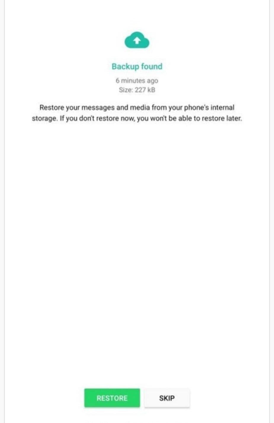 واتساپ : چت های حذف شده در واتساپ