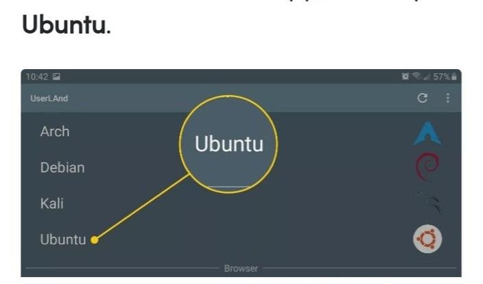 انتخاب نوع لینوکس