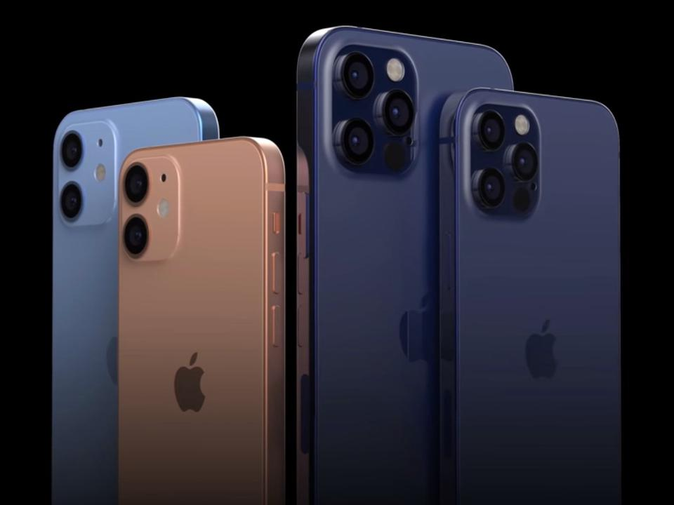خانواده سری آیفون 12 iphone 12