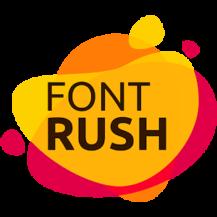 ساخت لوگو Font Rush
