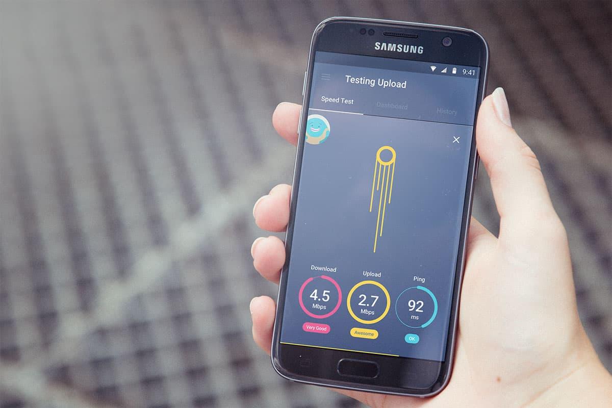 برنامه Meteor- App Speed Test تست سرعت اینترنت