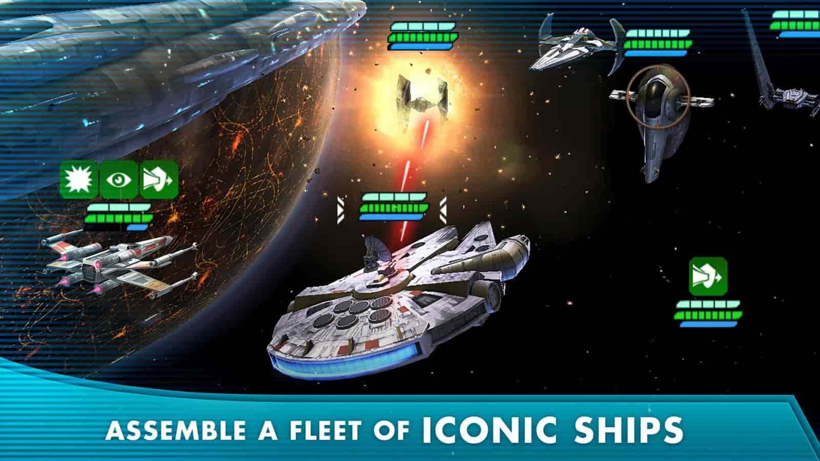 بازی Star Wars: Galaxy of Heroes