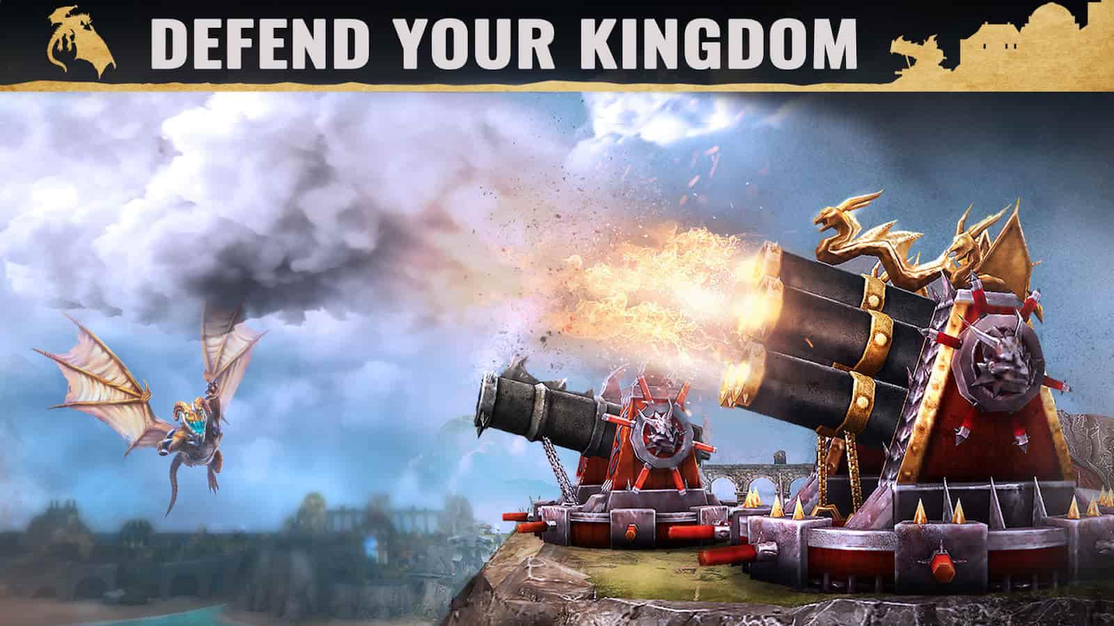 بازی War Dragons