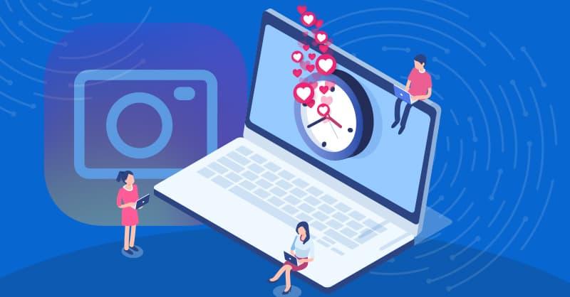مصرف اینترنت اینستاگرام
