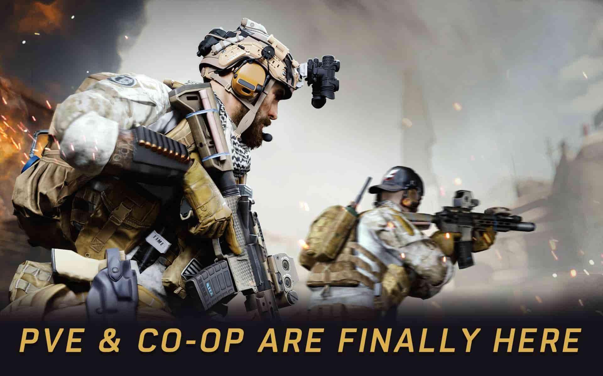 گرافیک بازی Warface اندروید