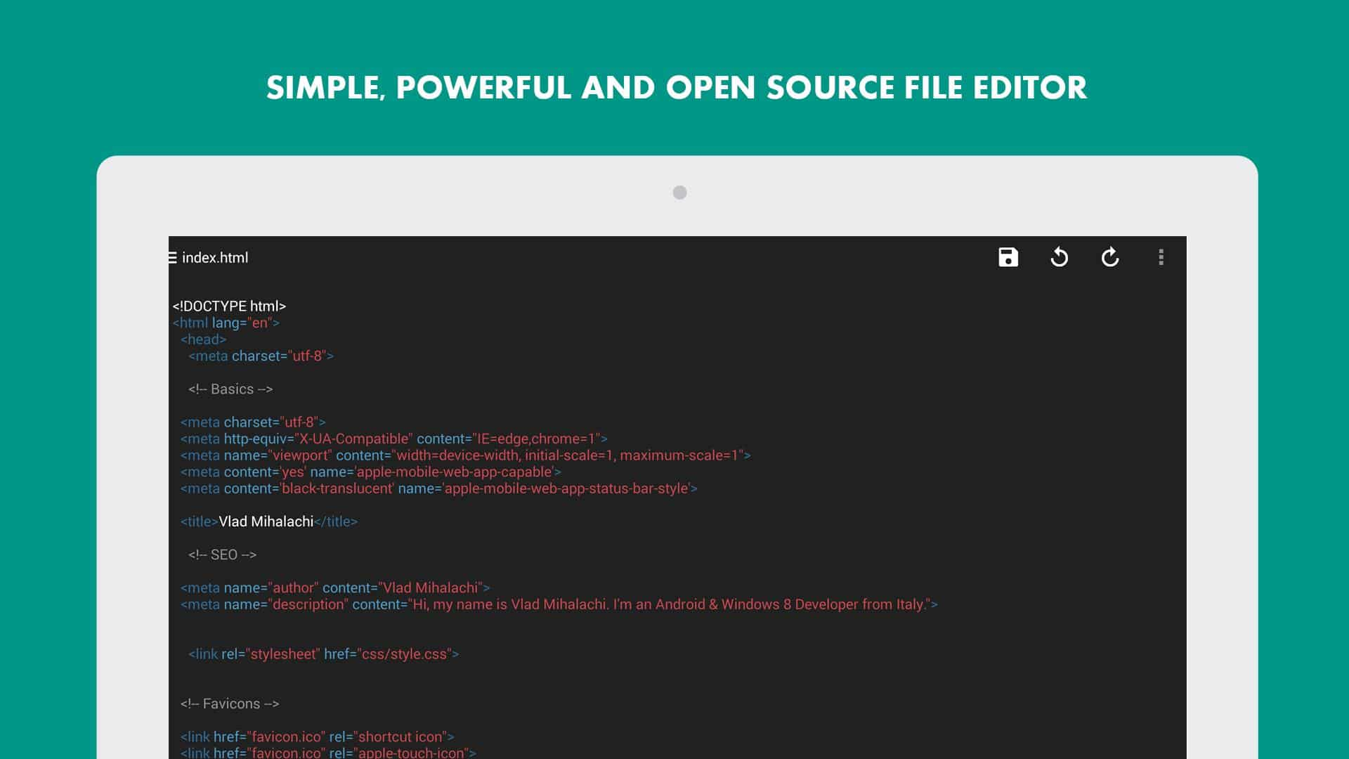 نمایش کد ها و سورس سایت در اندروید