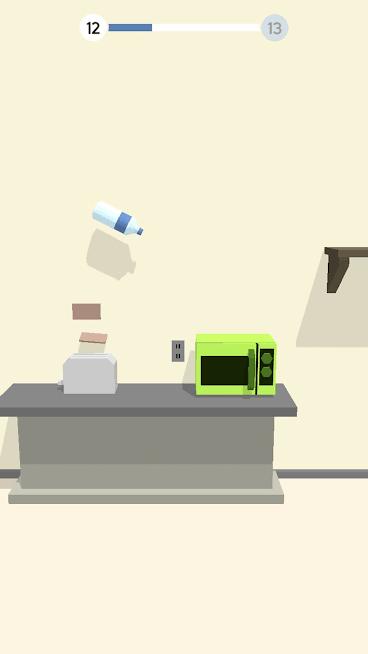 بازی Bottle flip 3D اندروید
