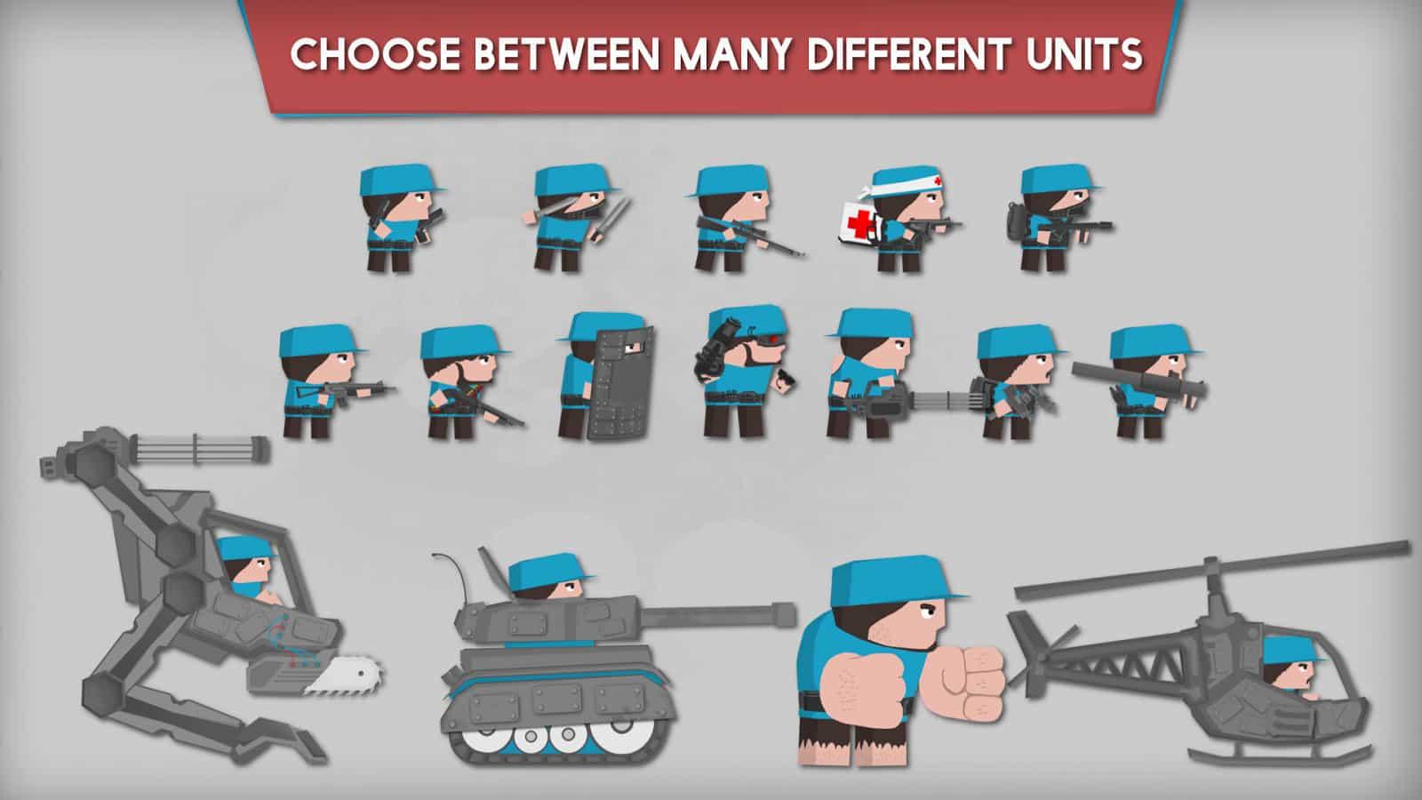 بازی ارتش سرخ Clone Armies
