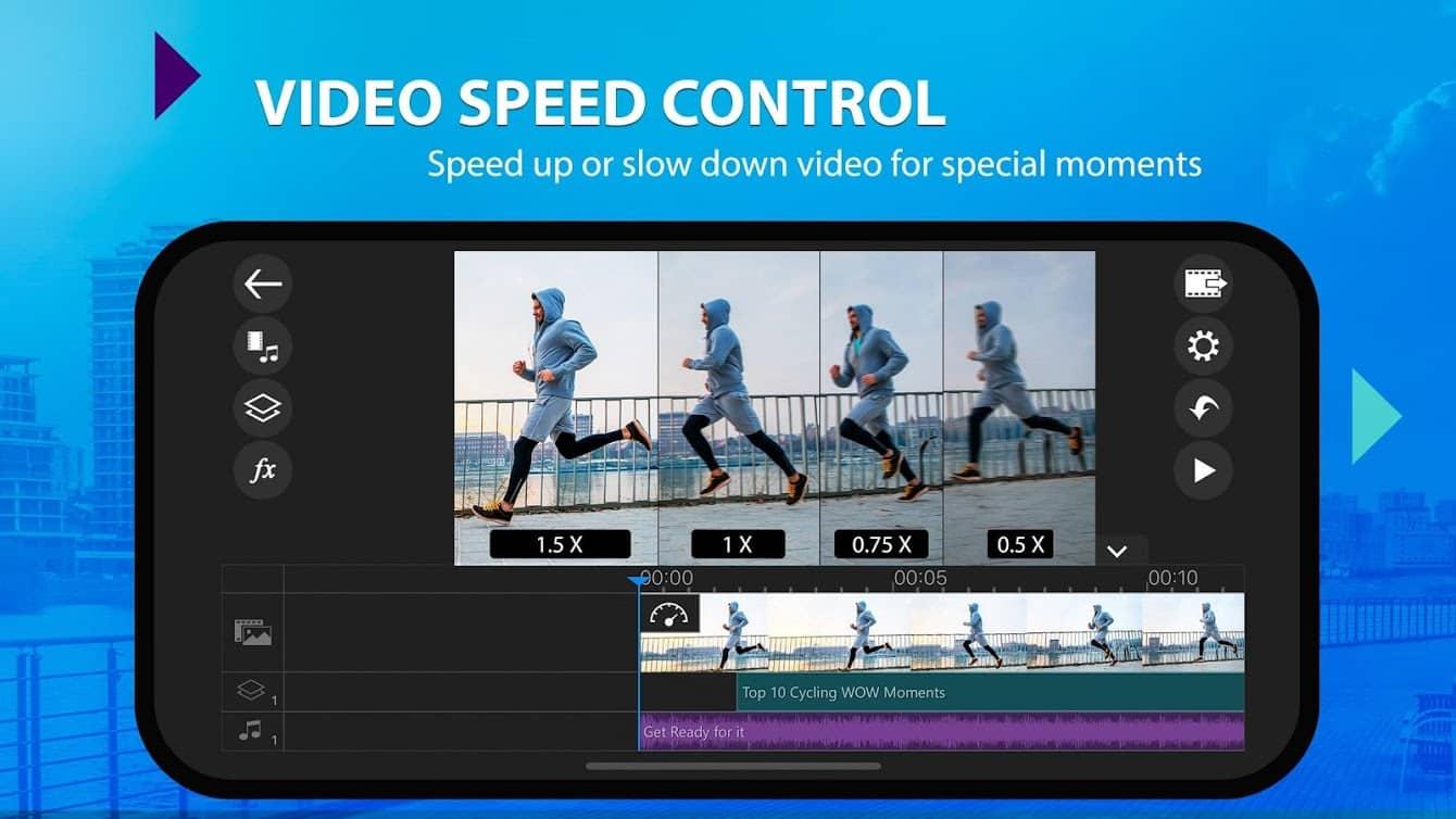 ویرایش ویدیو PowerDirector Full اندروید