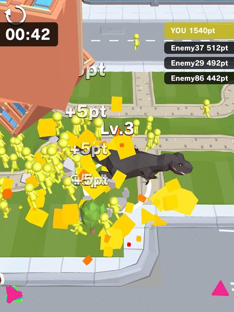 بازی Dinosaur Rampage