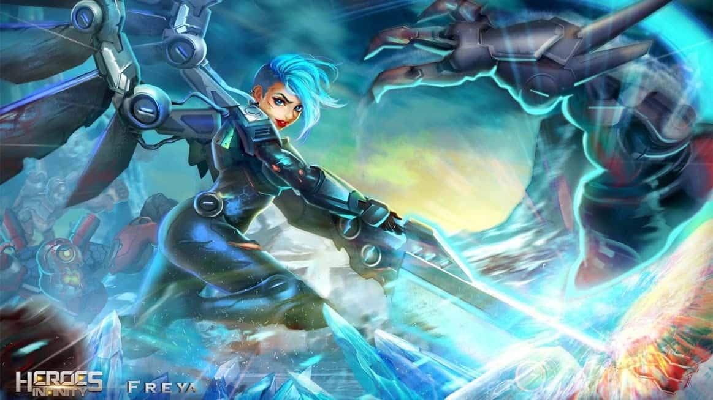 بازی قهرمان ابدیت Heroes Infinity