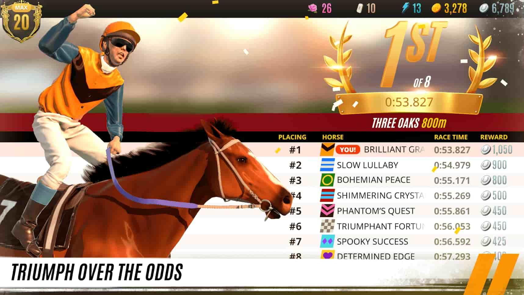 دانلود Rival Stars Horse Racing برای اندروید