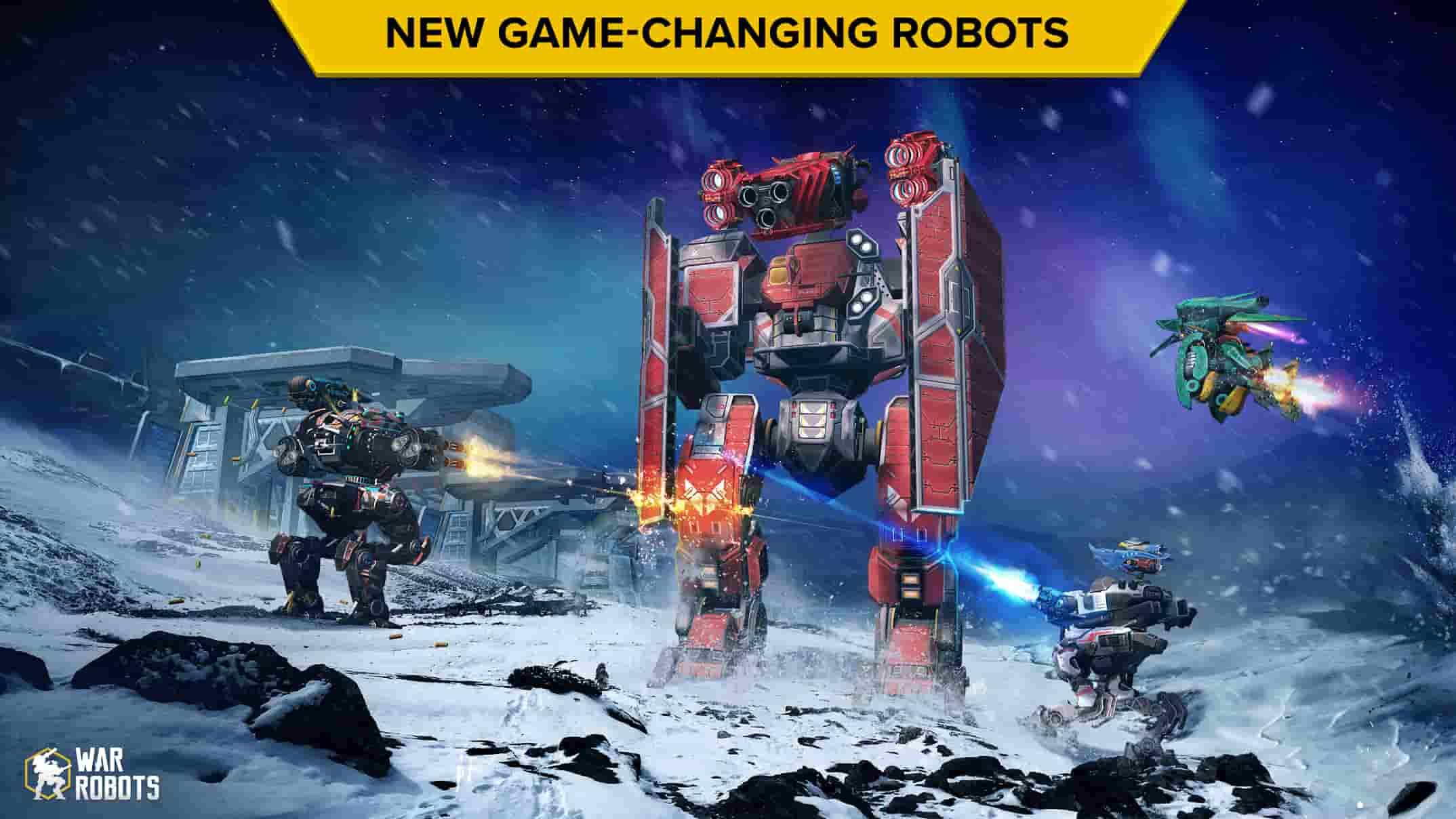 بازی درباره بازی War Robots