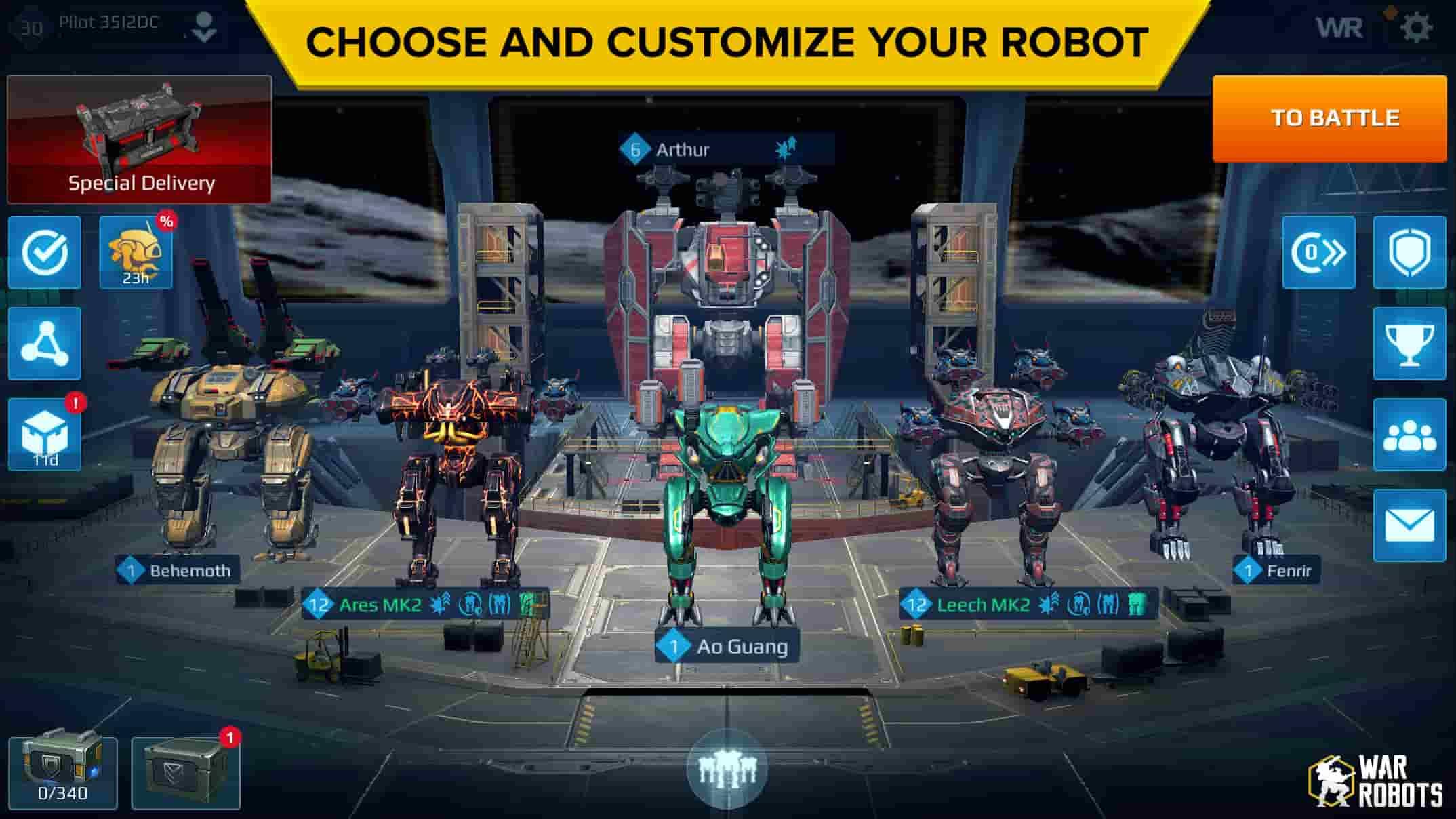 جنگ ربات ها War Robots