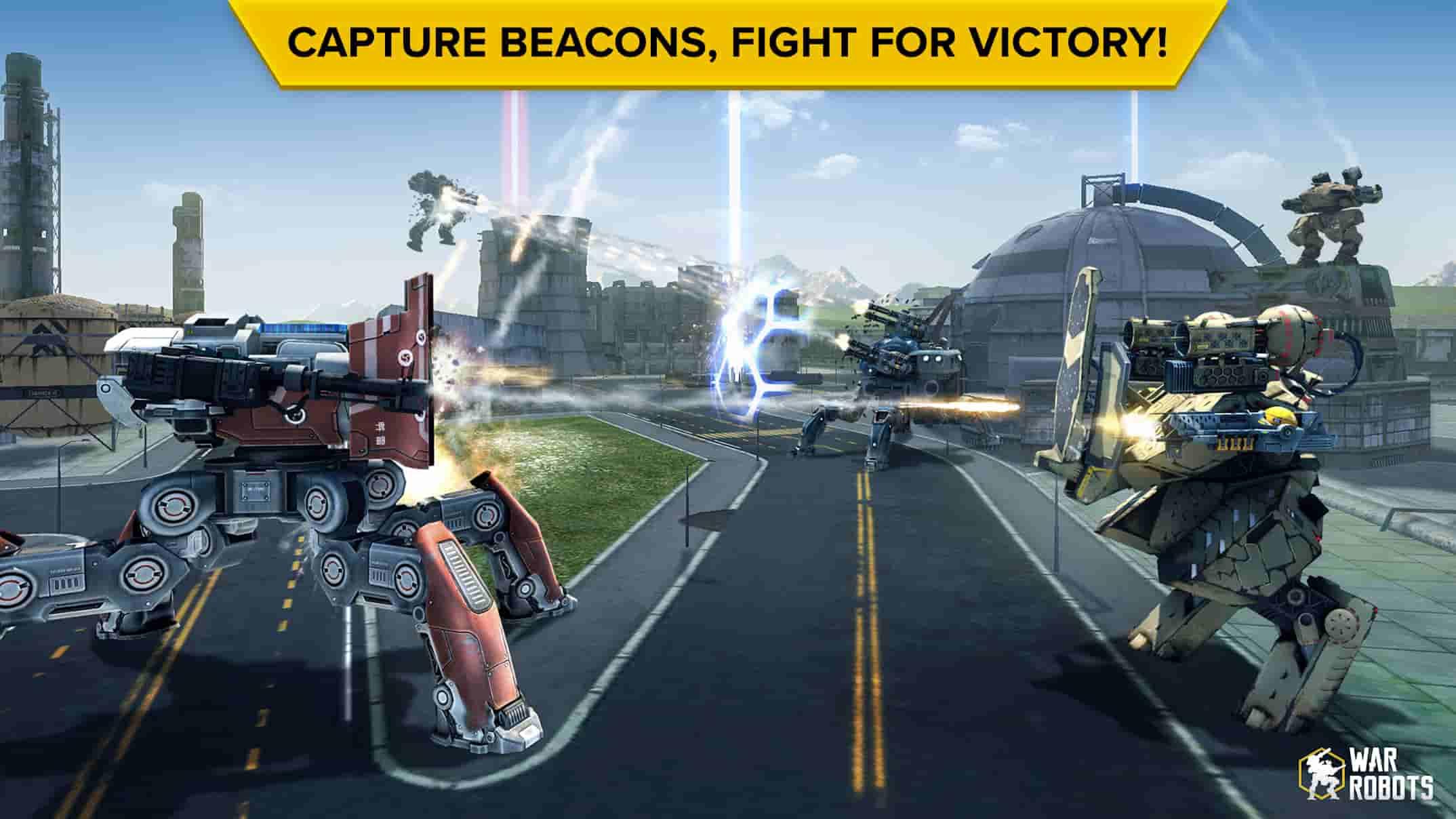بازی جنگ ربات ها برای اندروید