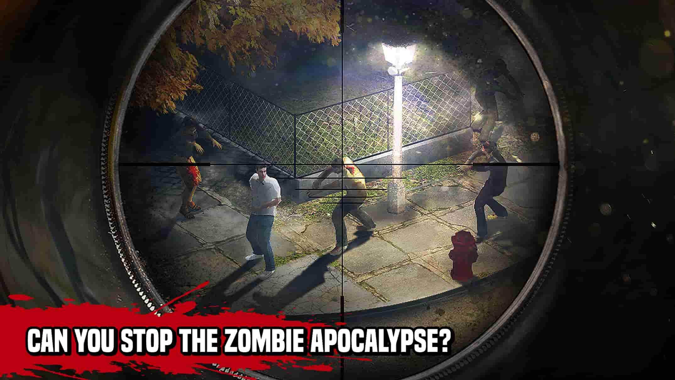 بازی زامبی Zombie Hunter Apocalypse